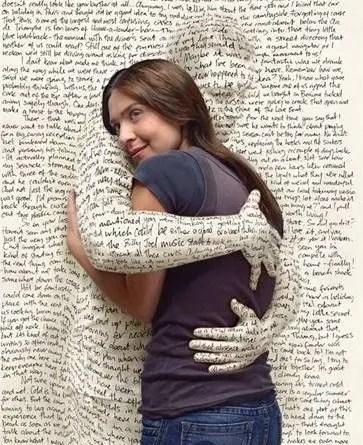 abrazo libros