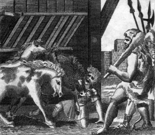 t 0018 1 - La captura de las yeguas devoradoras: 1er trabajo de Hércules (1/12)