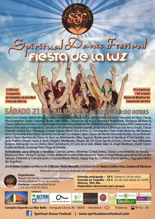 Cartel SDF Fiesta de la Luz - CARTEL VERANO SDF
