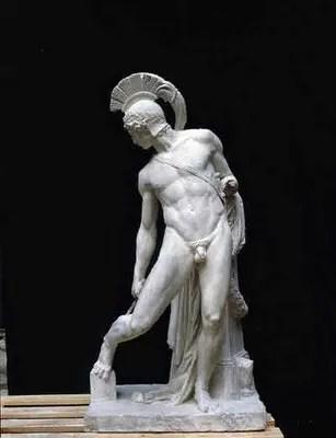aquiles - La captura de la cierva: 4º trabajo de Hércules