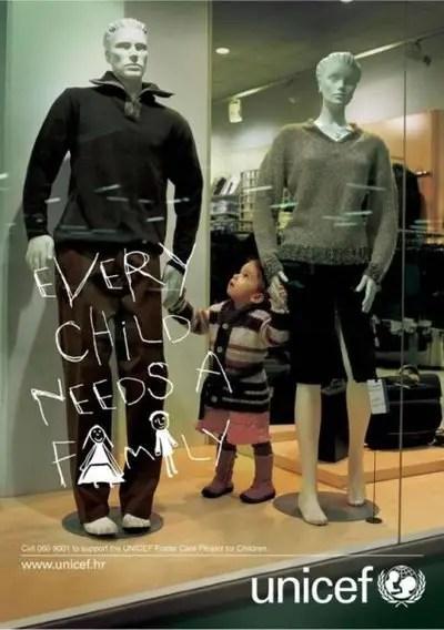 unicef - niños necesitan una familia