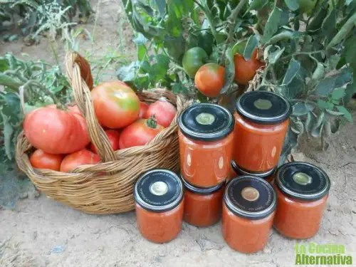 conservatomatefrito - Cómo hacer conserva de tomate frito paso a paso