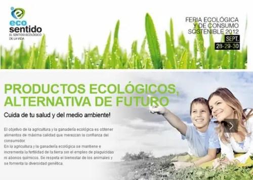 ECOSENTIDO - ECOSENTIDO: feria ecológica y de consumo sostenible en Gijón (Asturias) del 28 al 30 de septiembre 2012