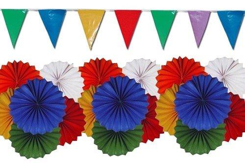 banderines - Por unas fiestas de pueblo ecológicas. Los viernes de Ecología Cotidiana