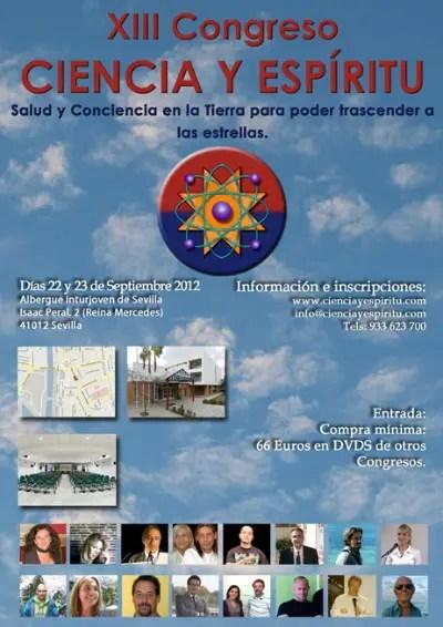 congresosevilla2med - XIII Congreso Ciencia y Espíritu en Sevilla