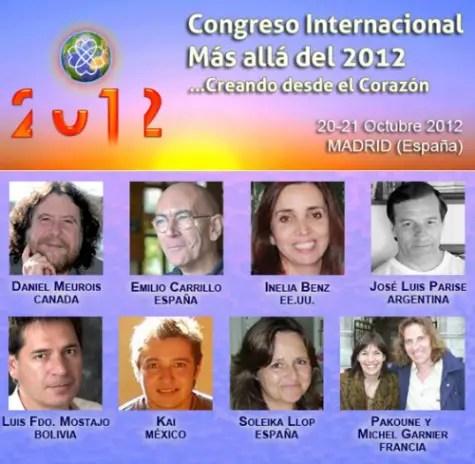 mas alla 2012 congreso - Más allá del 2012: Congreso Internacional Creando desde el corazón