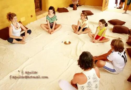yoganiños - yoga niños cortijo al haman