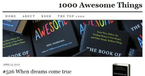 1000 awesome things - 1000 Awesome Things