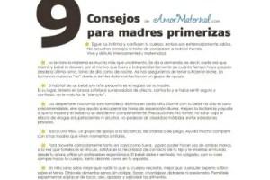 9Consejos1000b1 - 9 consejos para madres primerizas (poster)
