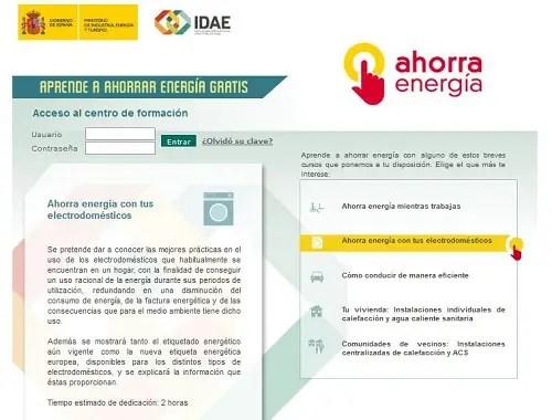 Ahorra Energía - Ahorra Energía con estos cursos monográficos