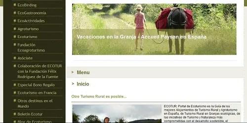 Ecotur - Ecotur - turismo rural ecologico y sostenible