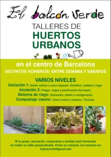 El Balcón Verde Talleres Huerto Urbano1 - El Balcón Verde - Talleres Huerto Urbano