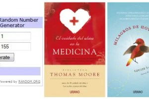 Ganadores sorteo Urano Abril 2011 - Ganadores del sorteo de 5 lotes de libros de Editorial URANO