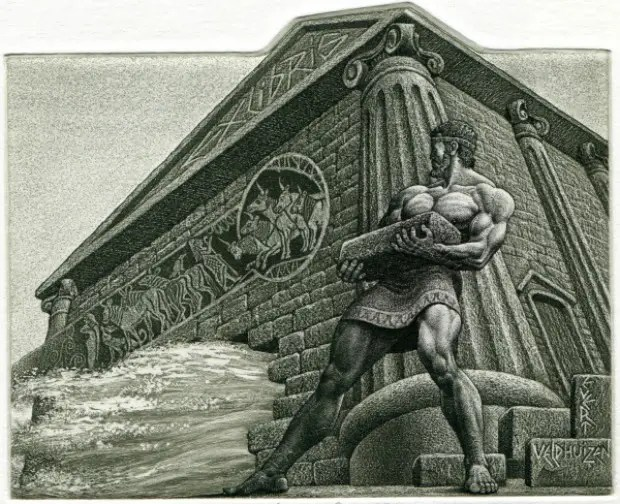 Hercules and the Augean Stables - Limpiando los establos de Augías: 11º trabajo de Hércules