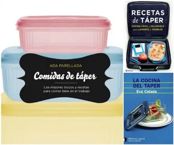 LIBROS COMIDAS DE TAPER2 - Vuelven las fiambreras: consejos y guía gratuita para comer en el cole