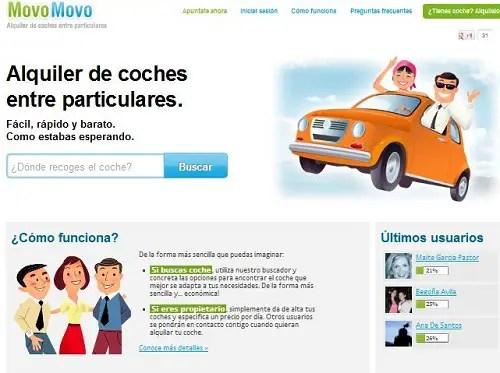 MovoMovo - MovoMovo alquiler de coches entre particulares