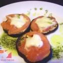 berenjena2 - Receta de berenjenas con tomate y mozzarela al horno