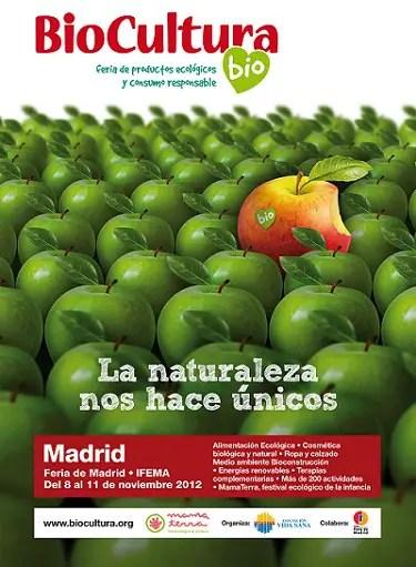 cartel Biocultura Madrid 2012