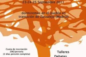 cartel encuentro decrecentista ii - I Encuentro Decrecentista en Madrid
