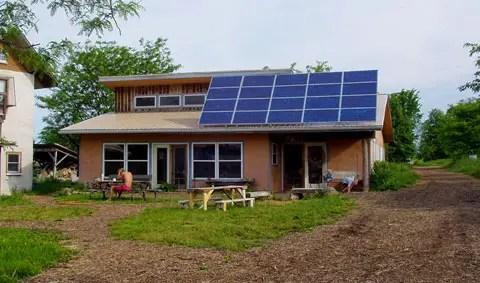 casa off the grid -