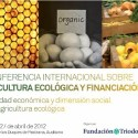 congreso2 - III Conferencia Internacional de Agricultura ecológica y financiación en Madrid