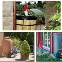 depositos aguas pluviales - Aprovecha el agua de lluvia para regar tus plantas