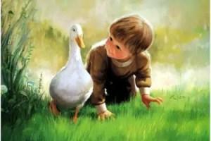 donald zona - DONALD ZOLAN, el pintor de la ternura y la infancia y sus mensajes
