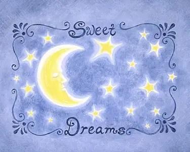dreams - sweet dreams