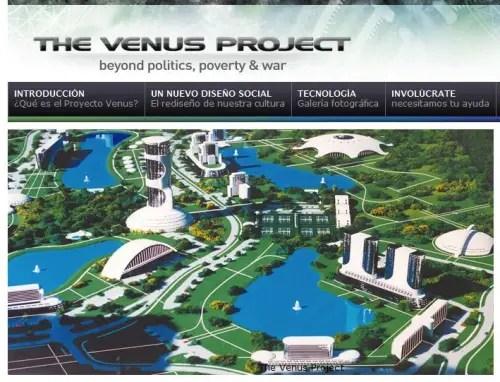 el proyecto venus the venus project por un mundo mejor - El Proyecto Venus - The Venus Project - Por un mundo mejor