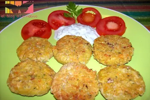 falafel plato - receta de falafel