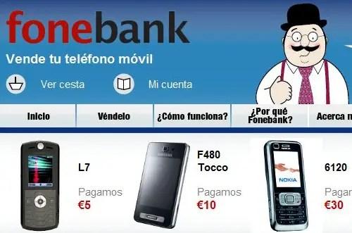 fonebank - Vende tu teléfono móvil usado a Fonebank para ser reciclado o reutilizado