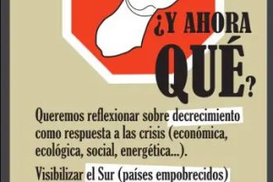 hasta aqui1 - Hasta aquí hemos llegado ¿y ahora qué?: jornadas de decrecimiento en Santander