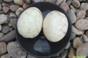 huevos marmoleados - Huevos marmoleados