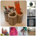 ideas para reciclar reutilizar y decorar - 12+1 ideas para reciclar, reutilizar y decorar en las frías tardes de invierno. Los viernes de Ecología Cotidiana