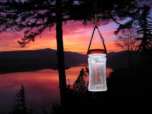 lightcap 300 linterna solar y botella de agua - lightcap-300-linterna-solar-y-botella-de-agua