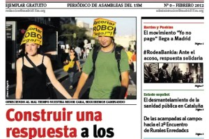 madrid 15M - MADRID 15 M: periódico online de las asambleas