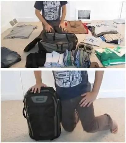 maleta - cómo hacer maleta