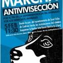 marcha antivivisección - Marcha contra la experimentación animal, 5 de febrero 2011 en la provincia de Barcelona