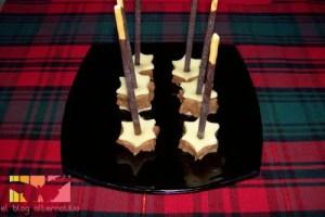 membrillo mikados - Delicias de membrillo y queso con Mikados de chocolate