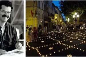 """muma art - """"La luz de las velas regenera el alma de la ciudad"""". Entrevista a Muma, artista plástico que fomenta esculturas sociales"""