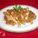 pasta - Receta de boloñesa de lentejas con macarrones integrales