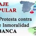 peregrinaje - Peregrinaje popular en España contra los abusos e inmoralidad de la banca