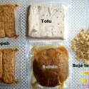 proteinas vegetales con texto - PROTEINAS VEGETALES: tofu, tempeh, soja texturizada y seitán