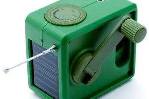 radio solar y a manivela - Radio solar y a manivela