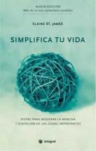 simplifica tu vida elaine st james 192x300 - Simplifica tu vida. Elaine St. James