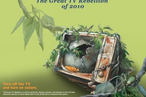sin tele2 - La Gran Rebelión contra la Televisión 2010: salgamos a la Naturaleza