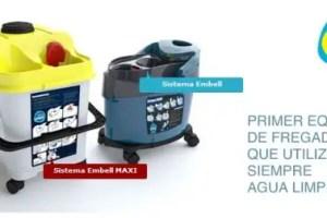 sistema embell - ¿Todavía friegas con agua sucia? Sistema de fregado Embell que ahorra agua, productos químicos y tiempo