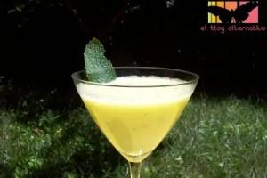 sopa melon - Sopa de melón con menta y limón