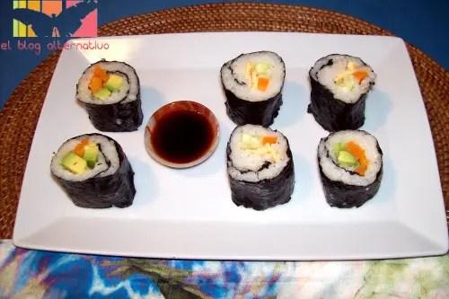sushi - receta de sushi