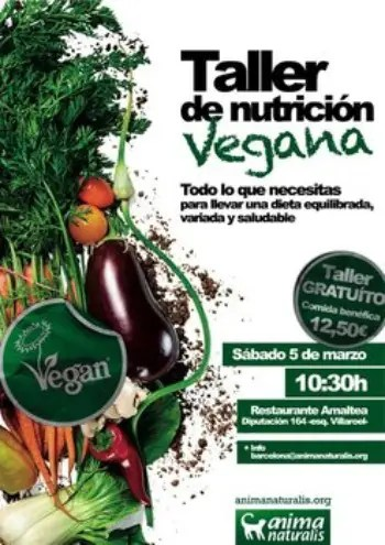 taller nutricion vegana - taller nutricion vegana